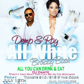 Demp and Ray All White Birthday Bash