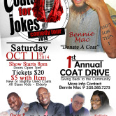 1st Annual Coats For Jokes Comedy Tour
