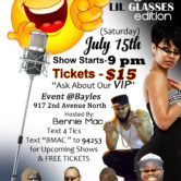 """Big Face, Lil Glasses"" Edition Comedy Show"