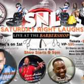 Saturday Night Laughs, Live In The Barber Shop *March*