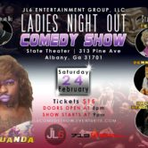 LADIES NIGHT OUT COMEDY SHOW