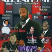 "ALL LAUGHS ON ME COMEDY SHOW"" Hosted by: Coolie Ward"