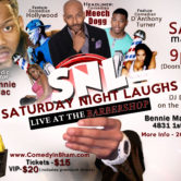 Saturday Night Laughs, Live At The BarberShop May Edition
