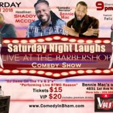 Saturday Night Laughs, Live At The BarberShop *JUNE*